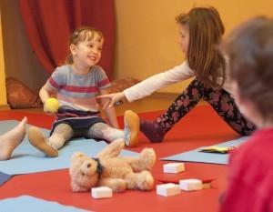 Turiya Kinderyoga für Kinder von 3 bis Schulantritt