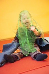 Kleinkinderyoga: Baby Turiya