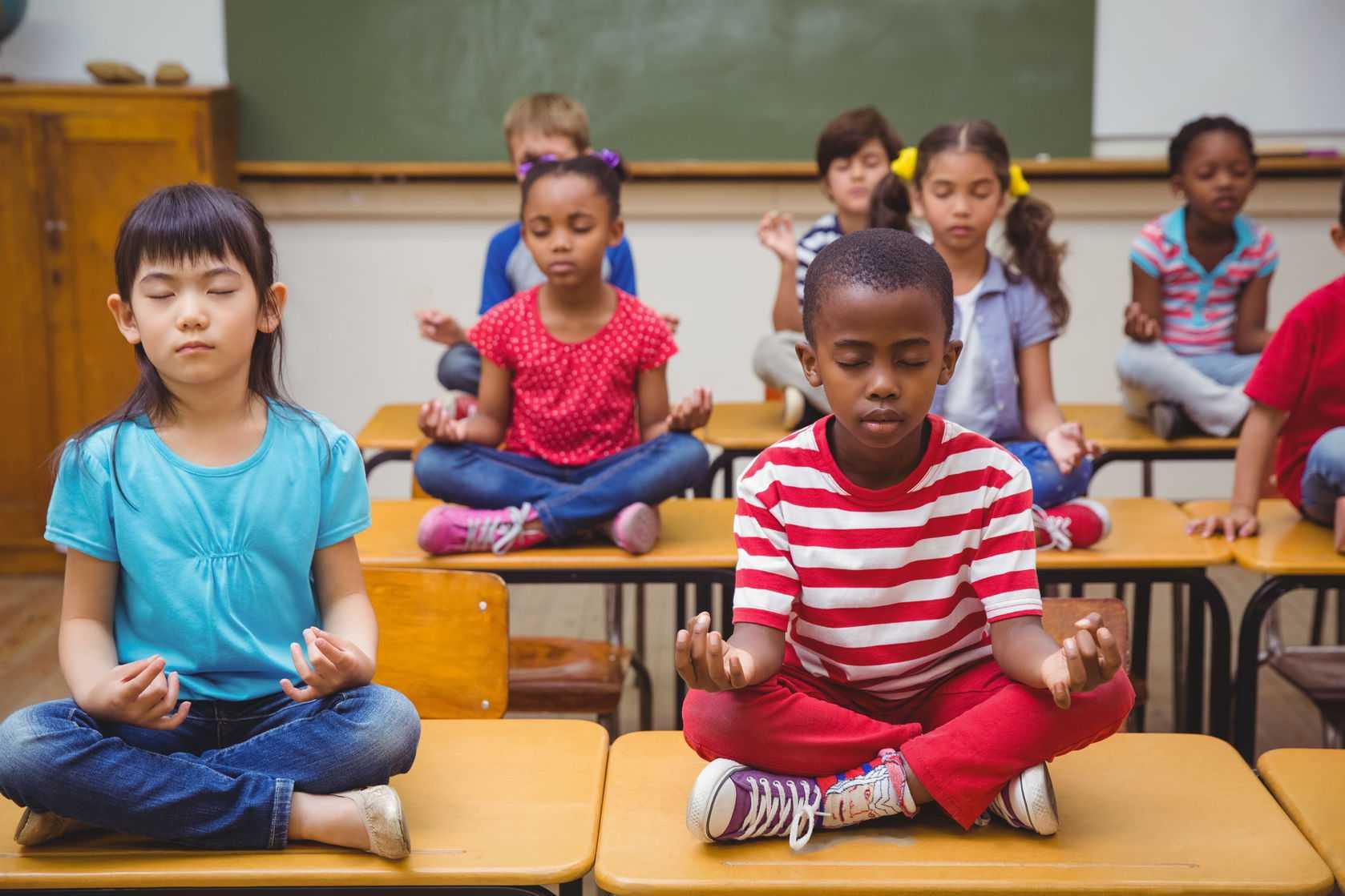 Turiya Yoga Übungsreihe für Yoga in das Klassenzimmer